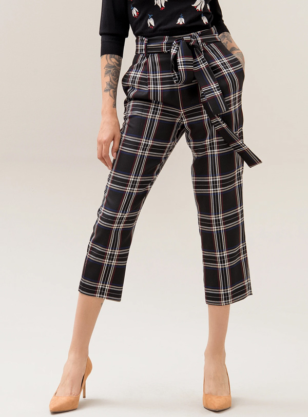 Fracomina pantalon 3/4 noir